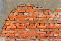 Old brick wall texture Royalty Free Stock Images