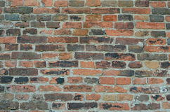 Old Brick Wall texture. Suitable for background Stock Images