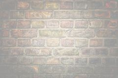 Old brick wall texture surface as background Stock Photography
