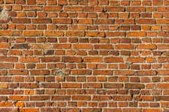 Old brick wall texture surface as background Royalty Free Stock Photos
