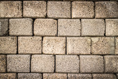 Old brick wall texture. Old brick wall texture to use as background Royalty Free Stock Images