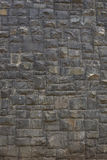 Old brick wall: Texture of vintage brickwork - stone brick Royalty Free Stock Photo