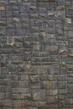 Old brick wall: Texture of vintage brickwork - stone brick Royalty Free Stock Photo