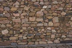 Old brick wall: Texture of vintage brickwork - stone brick Royalty Free Stock Photos