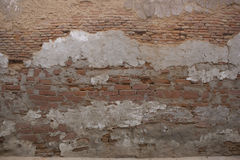 Old brick wall: Texture of vintage brickwork Stock Photos