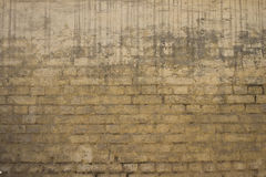 Old brick wall: Texture of vintage brickwork Royalty Free Stock Photography