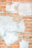 Old brick wall textured Royalty Free Stock Images
