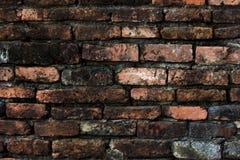 Old brick wall of Thailand royalty free stock photos