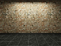 Old brick wall Stock Images