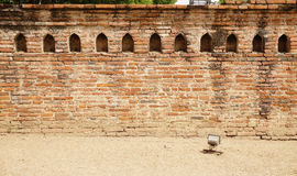 Old brick wall with traditional niche Royalty Free Stock Photos