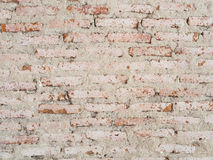 Old brick wall. Unfinished construction Royalty Free Stock Photography