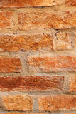 Old brick wall, vintage style. Royalty Free Stock Photography