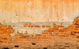 Old brick wall wallpaper textures backgrounds Royalty Free Stock Photo