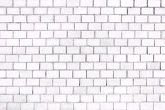 Old brick wall, the white surface of the stone blocks royalty free stock photo
