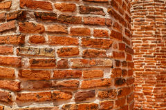 Old brick wallpaper Royalty Free Stock Photography