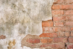 Old brick wallpaper Stock Photos