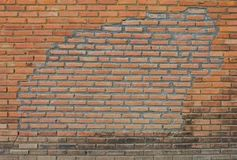 Old brick walls. Royalty Free Stock Photo