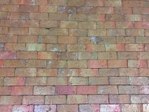 Old brick for walls or walls. Material Stock Photography