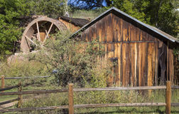Old Brick Water Mill in Sedona Royalty Free Stock Images