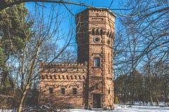Old Brick Water Tower, Konstancin-Jeziorna, Poland. An Old Brick Water Tower in Konstancin-Jeziorna City, Poland Stock Image
