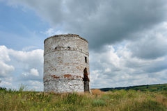 Old brick water tower Royalty Free Stock Photo