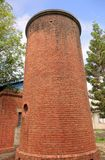 Old Brick Water Tower Stock Photo