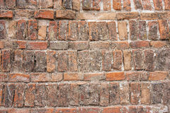 Old brick weaving background texture Royalty Free Stock Image
