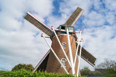 The old brick windmill Stock Image