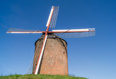The old brick windmill Royalty Free Stock Photo