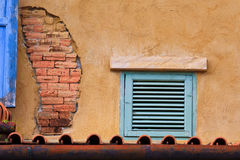 Old brick and window Royalty Free Stock Image
