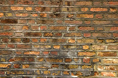 Old bricks. House wall on central London, UK Stock Photography
