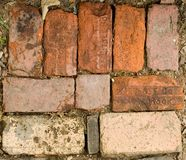 Old Bricks Stock Photography