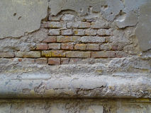 Old bricks wall architecture detail Stock Photos