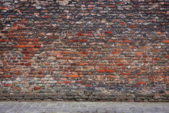 Old bricks wall Stock Image