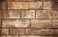 Old bricks wall background Royalty Free Stock Photos