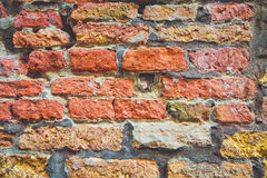 Old bricks wall background Royalty Free Stock Image