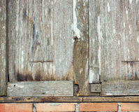 Old Bricks and wood Stock Images