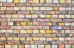 Old brickwall. Rustical and old brick masonry wall Royalty Free Stock Images