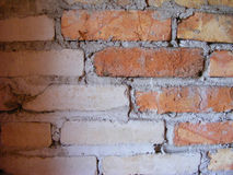 Old brickwall. In a village Royalty Free Stock Photography