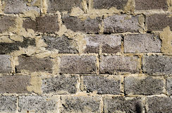 Old brickwork detailed texture background Stock Photos