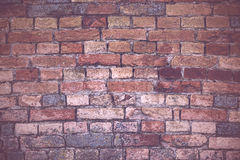 Old brickwork, rustic tone Stock Photos