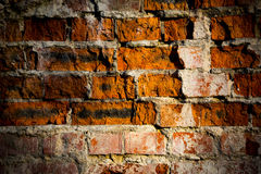 Old brickwork in wall Stock Image