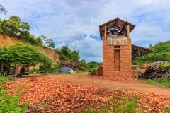 Old brickyard.  royalty free stock photo