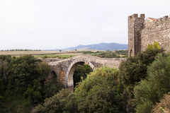 Old bridge. Royalty Free Stock Images