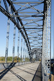 Old bridge. Of harburg to hamburg on the Elbe Royalty Free Stock Photos