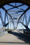 Old bridge. Of harburg to hamburg on the Elbe royalty free stock image