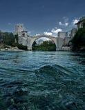 Old bridge. In Mostar, Bosnia end Herzegovina Stock Photo