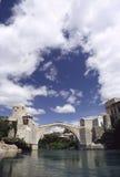 Old Bridge. In Mostar, Bosnia, Europe Stock Photography