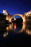The old bridge. In Mostar Royalty Free Stock Photography