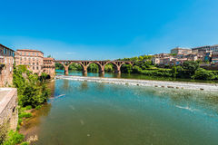 Old bridge in Albi, France Royalty Free Stock Photography
